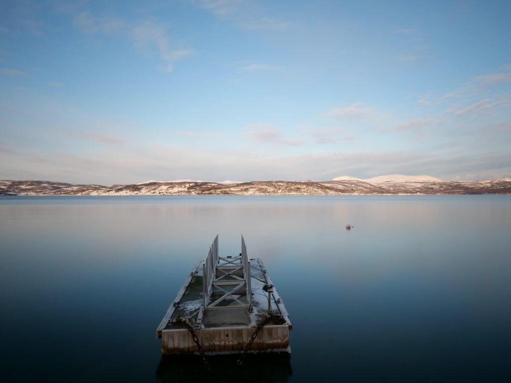 La vista su Senja dalla nostra casa presso Finnsnes
