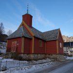 la chiesa lignea di Torsken, Senja